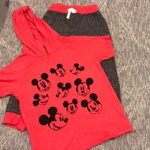 Worn* Toddler Mickey Mouse Set